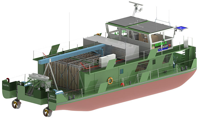 BEHALA: The push boat with a whole new energy system.
